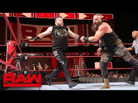 Braun Strowman vs. Kevin Owens - Men's Money in the Bank Qualifying Match: Raw, May 7, 2018