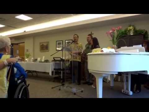 Indonesian Singers in Edmonton : Amazing Grace