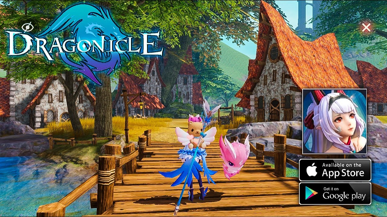 Dragonicle Gameplay - MMORPG (Android) - YouTube