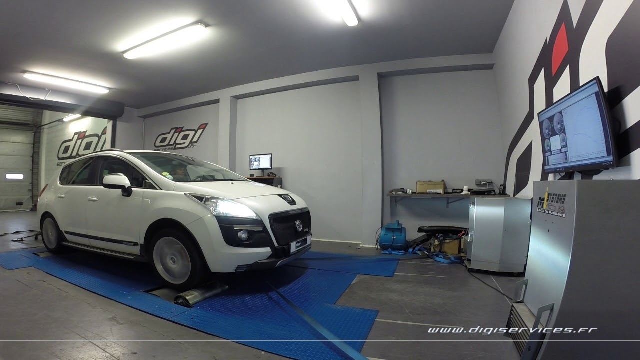 Garage Peugeot Paris Peugeot 3008 2 Hdi 150cv Reprogrammation Moteur 188cv Digiservices Paris 7 Dyno