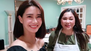 Cooking with Mama D! ♥️ | Erich Gonzales