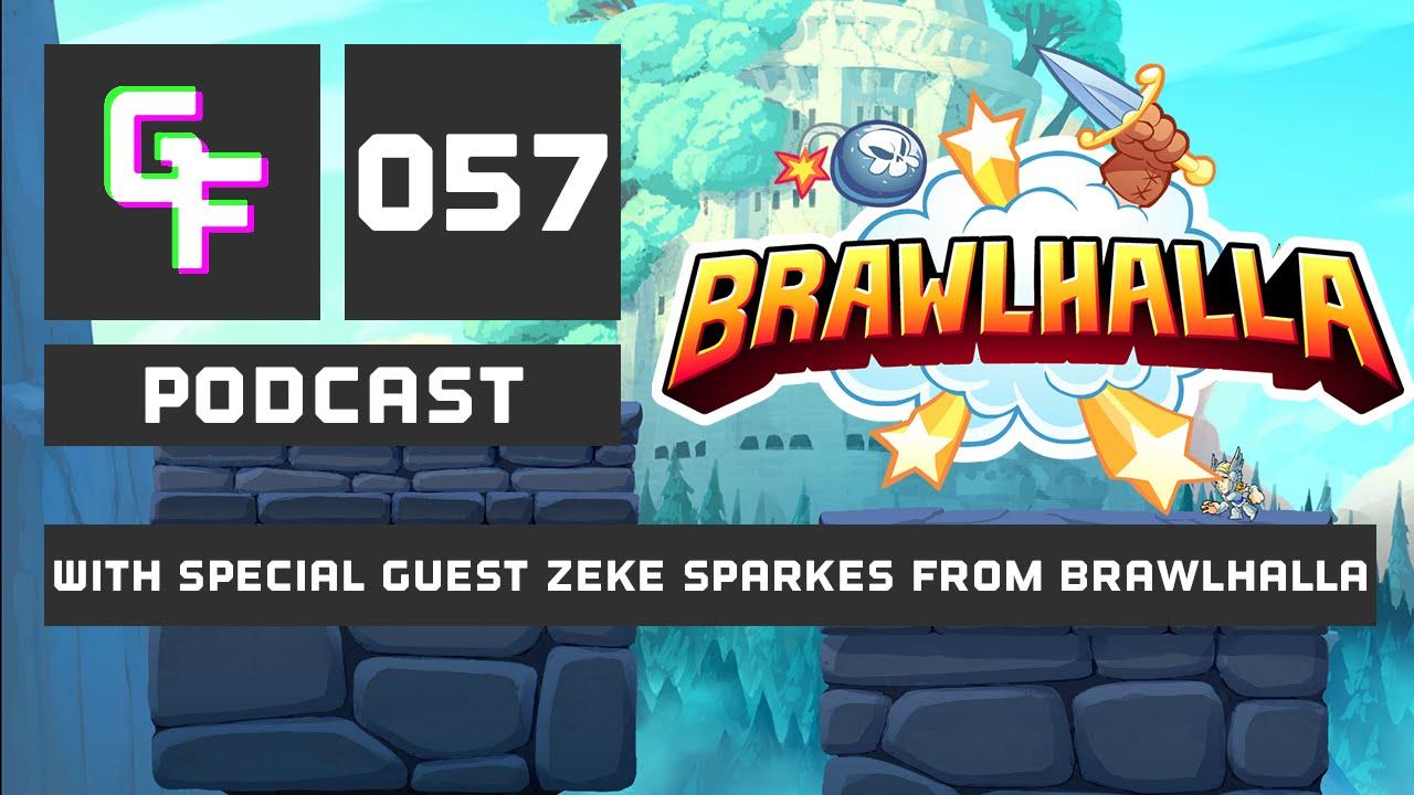 Download GlitchFeed Podcast Live with Brawlhalla dev Zeke Sparkes!