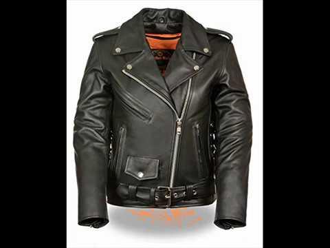 Milwaukee leather women's motorcycle jackets