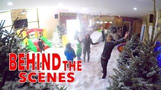 INDOOR SNOWSTORM PRANK EXTRAS!!
