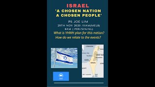 Israel - Chosen Nation and Chosen People