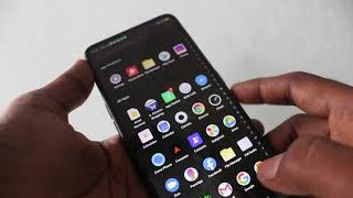 How to turn off auto screen rotation in Oppo F11 Pro
