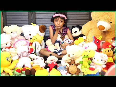 My Teddy Collection | 50+ Soft Toys - I love all Teddy Toys | Miss Anika