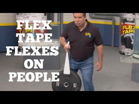 flex tape thats a lot of damage