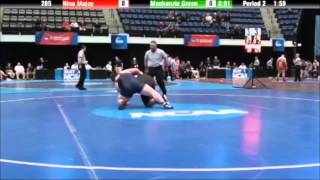 2014-15 NCAA wrestling rules