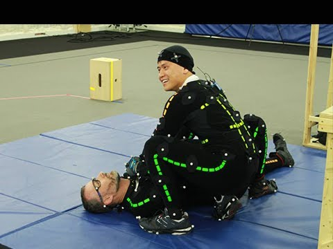Splinter Cell Blacklist - Motion Capture Session w/ Tetra Ninja Ubisoft Toronto Studio MoCap