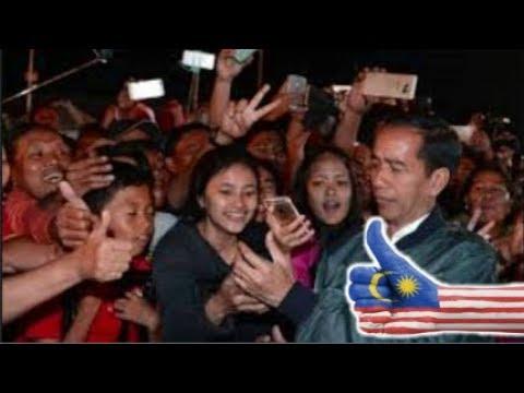 Dekat Dengan Rakyat,, Warga Malaysia Iri Dengan Indonesia Karena Miliki Jokowi
