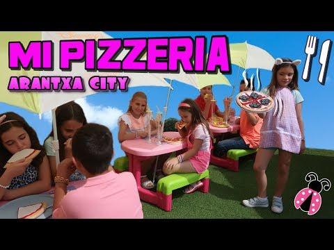 Pizzeria en la casita de Arantxa 🏡 Arantxa City - Los juguetes de Arantxa