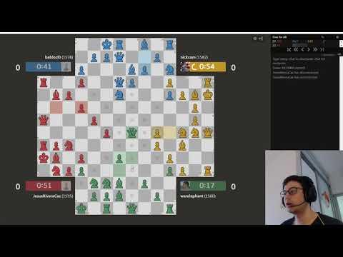 """4-Player Chess #27 """"A Gentleman's Queen Trade"""""""