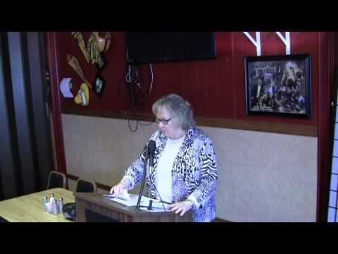 """Janet Jakubek Speaks of """"Tips on Over Sea Travel"""" Kiwanis"""