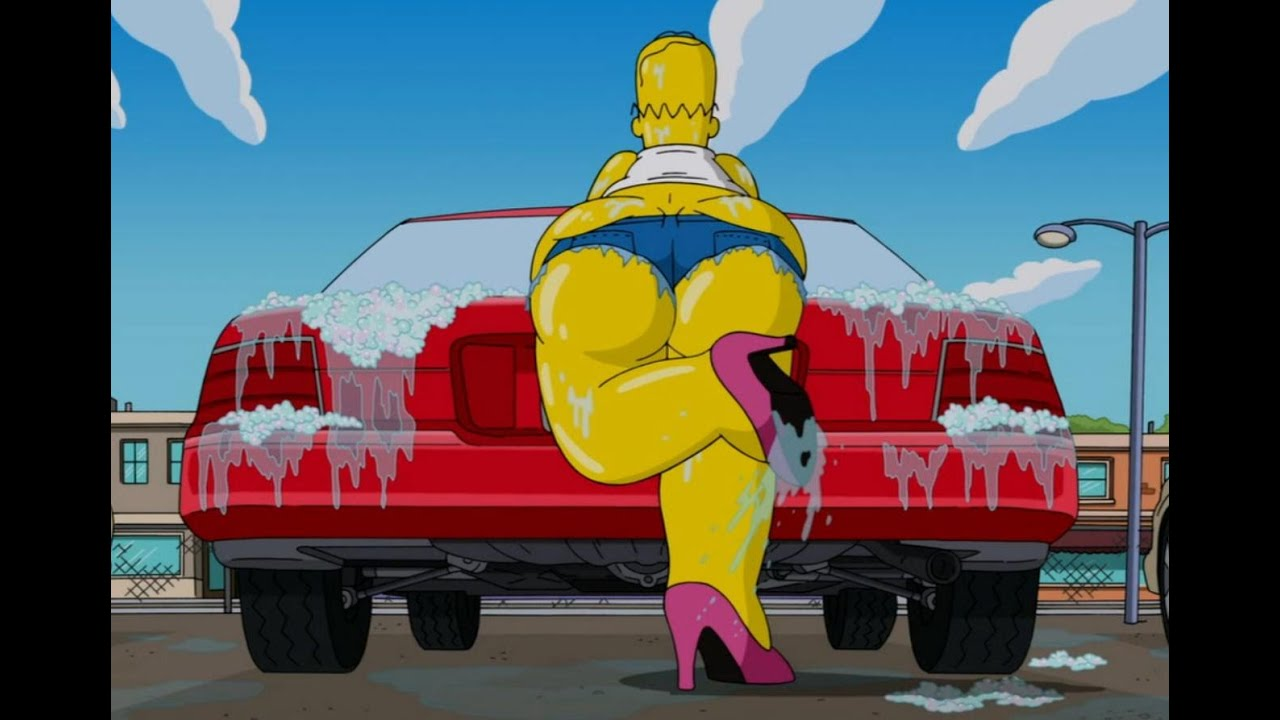 Family Guy The Simpsons Car Wash