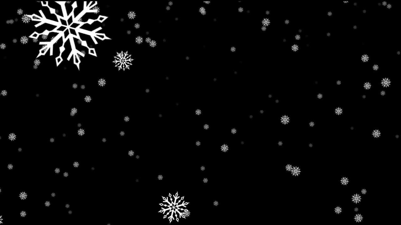 sharp snowflakes falling big - free HD overlay footage ...  sharp snowflake...