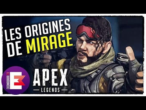MIRAGE LA LÉGENDE LA PLUS TRISTE ? LES ORIGINES DE MIRAGE | Apex Legends