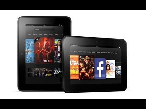 Amazon Kindle Fire HD 7 Kindle Fire HD 8.9 Kindle Fire HD 8.9 4G LTE Especificaciones