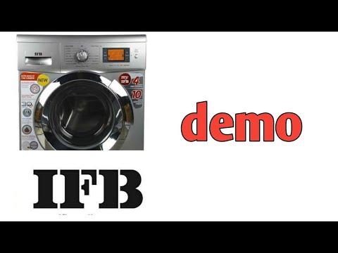 ifb front load washing machine demo telugu | front load washing machine how to use | demo