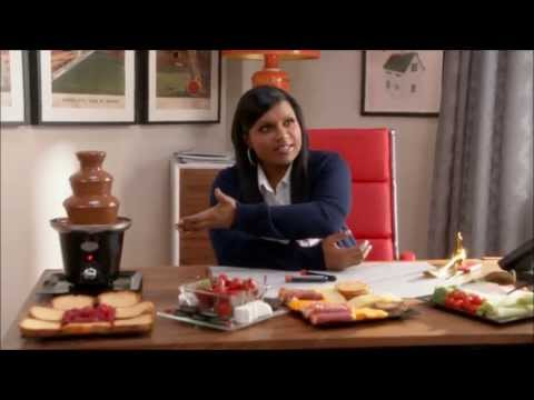 Chocolate Fountain Scene - The Mindy Project