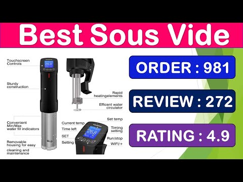 Best Sous Vide Machine | 1000W Inkbird Sous Vide WI-FI Culinary Cooker Review