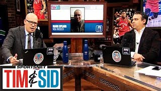 Does Masai Ujiri Have A Trick Up His Sleeve To Make Raptors Better? | Tim and Sid