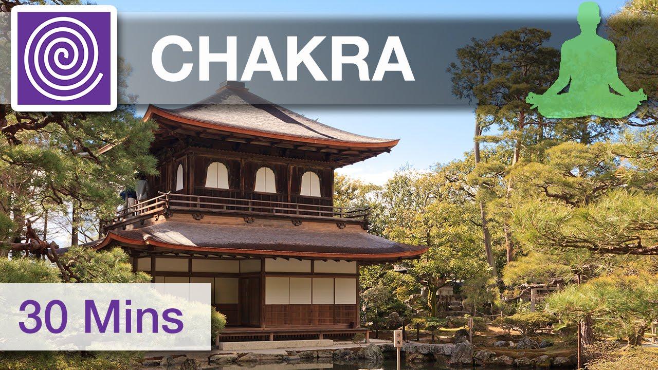 30 Minute Alpha Waves Meditation Music ☯ Chakra Cleansing Meditation Music,  Healing Music