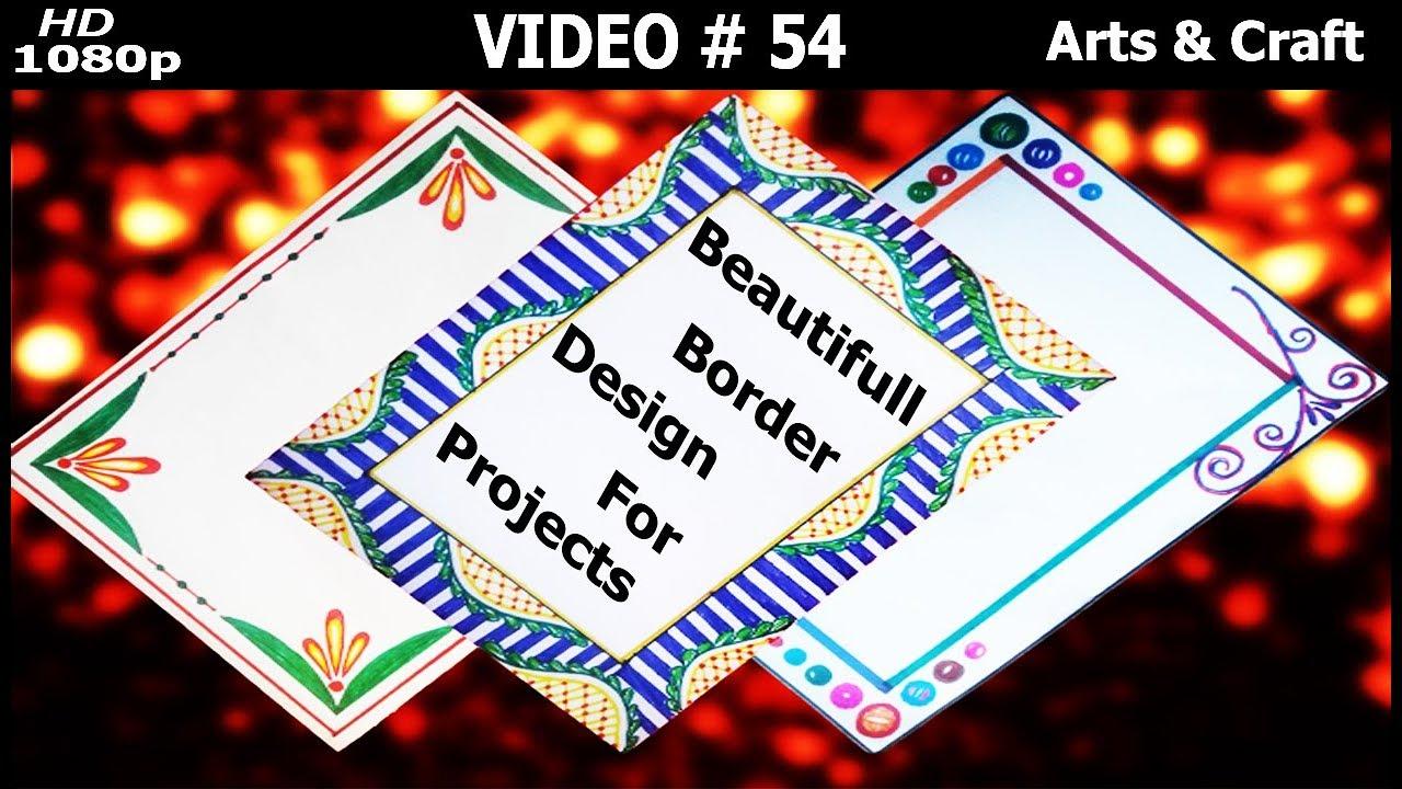 Beautiful Project Design Video 54 Arts Craft Youtube