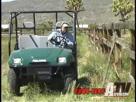 Atv television test 2004 polaris ranger youtube atv television test 2004 polaris ranger sciox Images