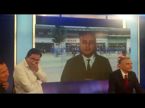 NTV Spor ekibinden Onur Tuğrul'a doğum günü şakası