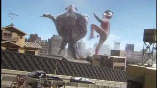 Ultraman Mebius & Hunter Knight Tsurugi vs. Bogal
