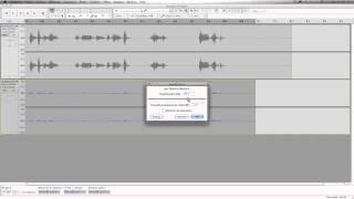 Audacity: FX voix radio