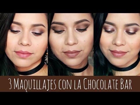 3 Maquillajes con la Chocolate Bar de Too Faced | Karla Burelo :)