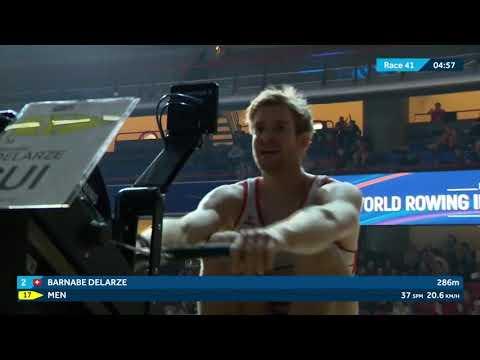2020 World Rowing Indoor Championships - Open Men's 2000m Race
