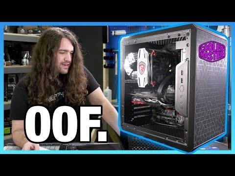 Cooler Master Q500L Case Review: We Tried to Make It Good