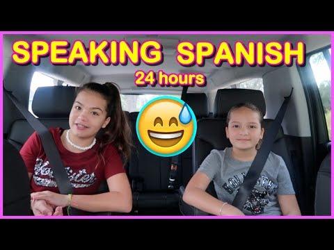 24 HOURS ONLY SPEAKING  SPANISH  | SISTER FOREVER