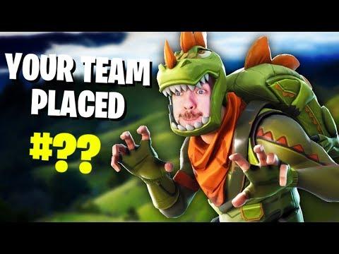 RIP TRUMPET | Fortnite (Battle Royale Funny Moments) #6