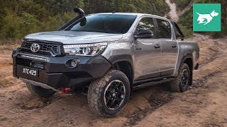 Toyota HiLux Rugged X 2018 detailed review