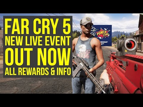 New Far Cry 5 Live Event OUT NOW - All Rewards & New Weapon Out For Everyone (Far Cry 5 Punchline)