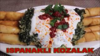 ISPANAKLI KOZALAK / KOZALAK MANTI / MANTI TARiFi / YEMEK TARIFELERí / GÜLSÜMÜN SARAYI