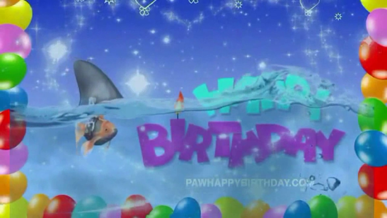happy birthday images animated with music