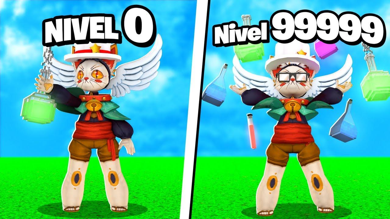DE CIENTÍFICO NIVEL 0 A CIENTÍFICO NIVEL 999999 EN ROBLOX