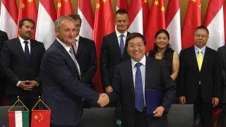 Együttműködési szándéknyilatkozatot írt alá az MVM és a Bank of China