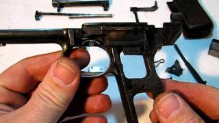 Mauser 1914 - Field-Strip/Take-down/disassembly. (3/3)