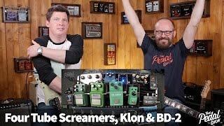 That Pedal Show – Four Tube Screamers Compared, plus Klon Centaur & Boss BD2