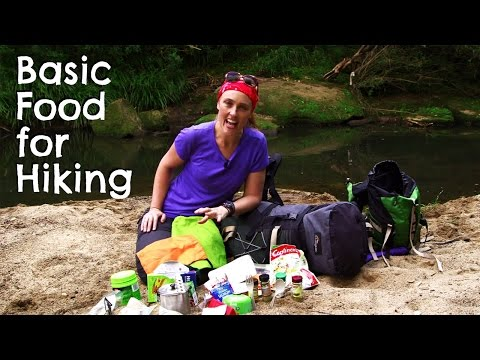 Basic Food for Bushwalking / Hiking