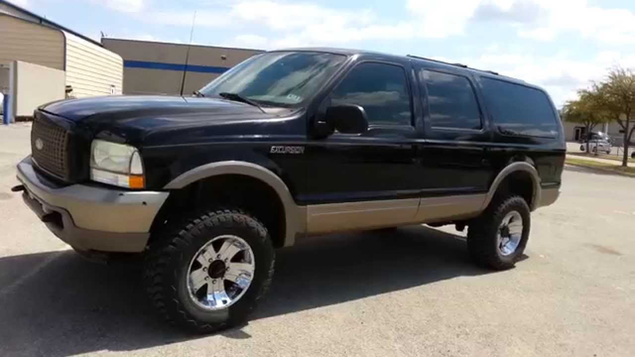 18 999 for sale 2003 ford excursion eddie bauer tdy sales texas car deal youtube. Black Bedroom Furniture Sets. Home Design Ideas