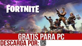 HOW TO DOWNLOAD FORTNITE ON PC WINDOWS 10, 8 and 7 RUNNING 100%