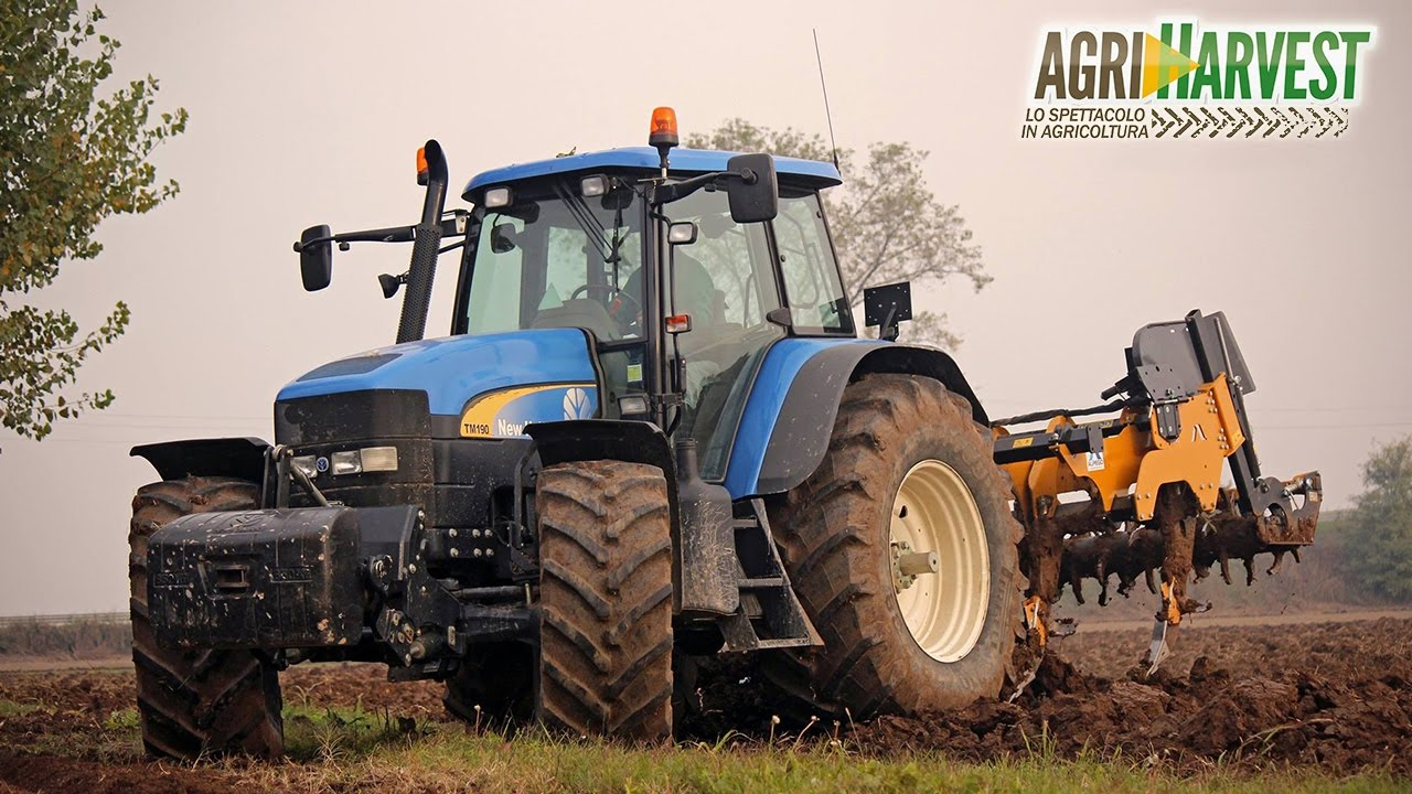 New Holland Tm 190 Working With Alpego Super Craker Kf