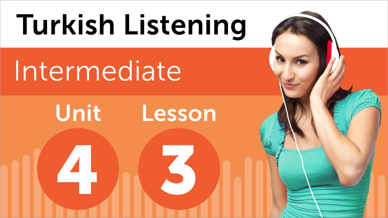 Turkish Listening Practice - Talking About School Subjects in Turkish